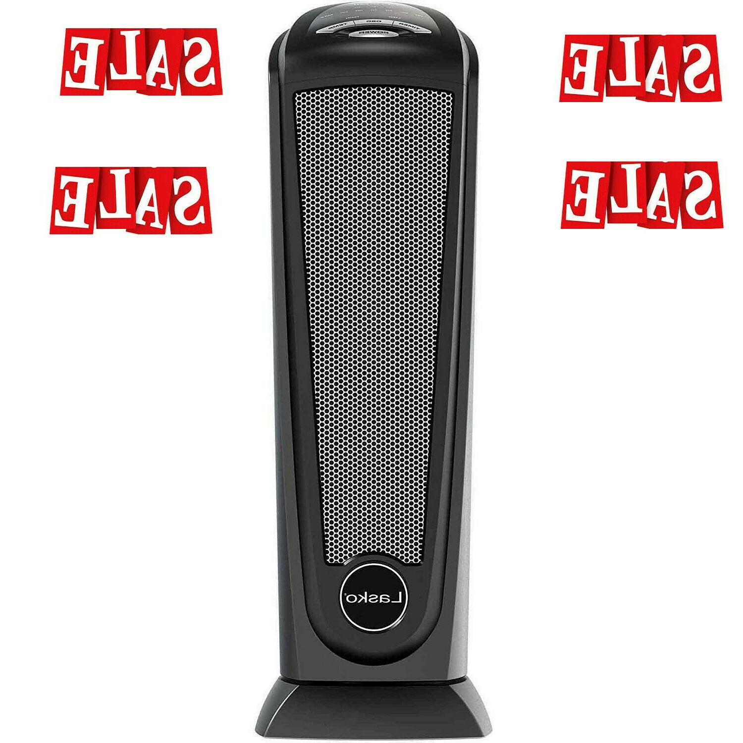 electric ceramic tower space heater with remote