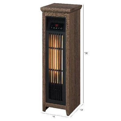 Electric Space Heater Quartz 1000 Remote Control