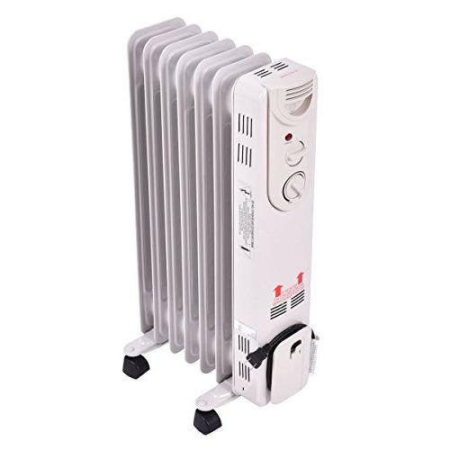 Tangkula Radiator, Heater Adjustable Tip and Overheating Protection, Filled Radiator and