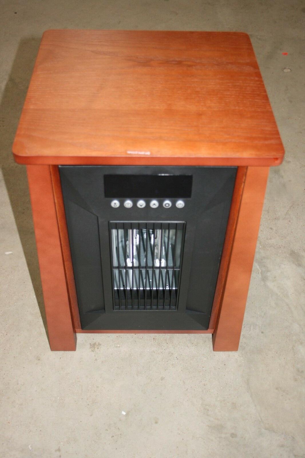electric portable infrared quartz space heater w
