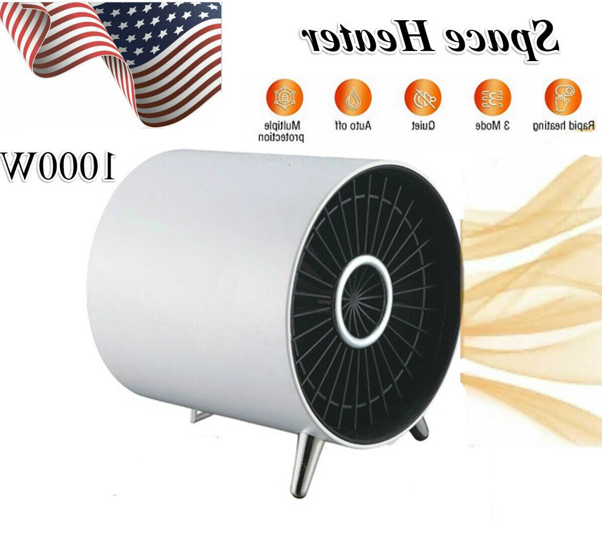 electric portable space heater 1000w indoor heater