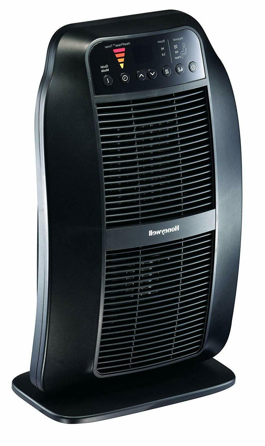 electric space heater black with timer hce840b