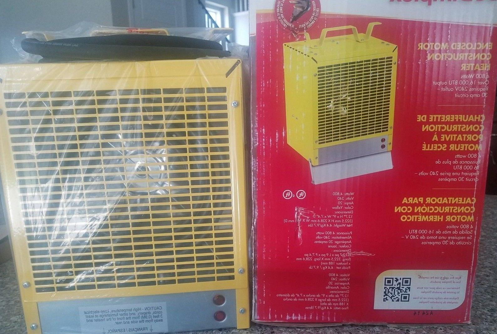electric space heater fan forced model emc4240
