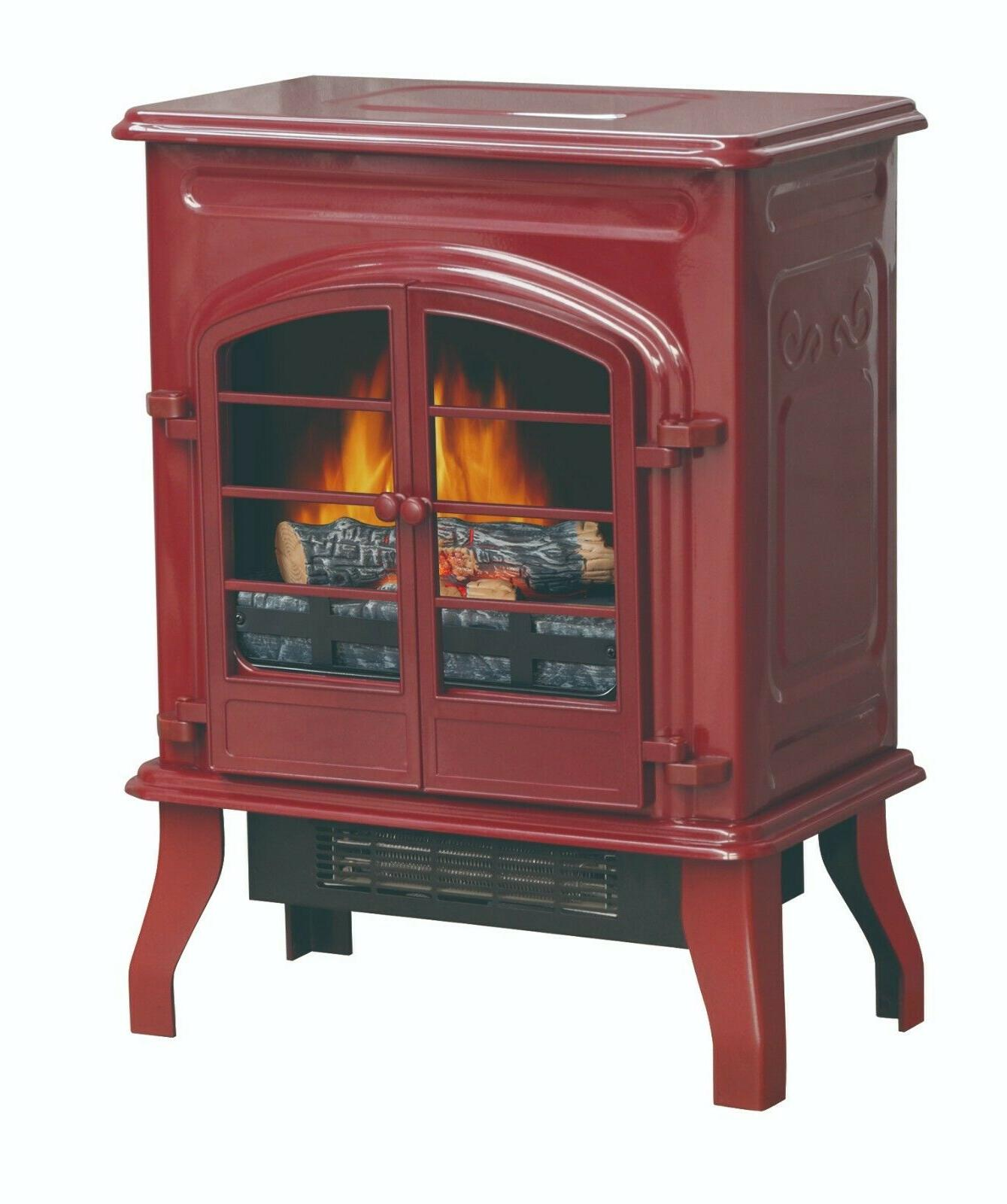 Red Stove Electric Space Heater 2 Heat Settings 750/1500W Th