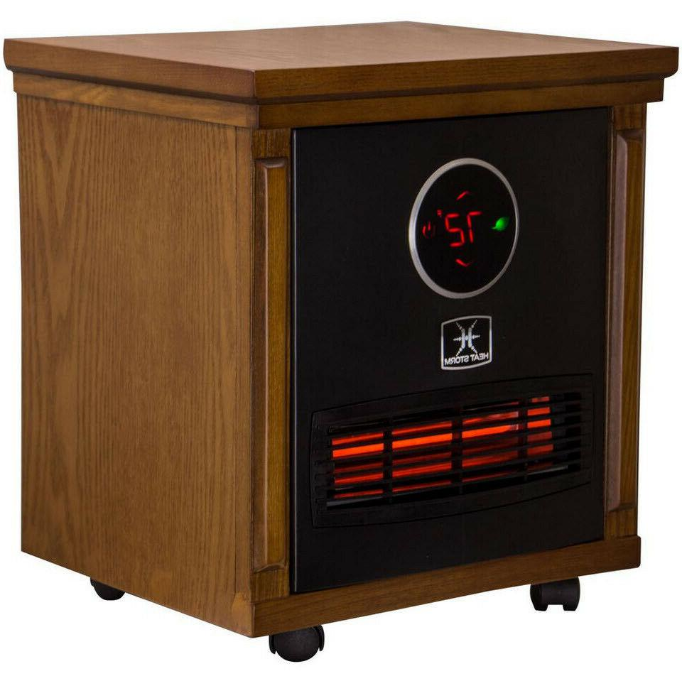 electric space heater infrared 1500w portable built