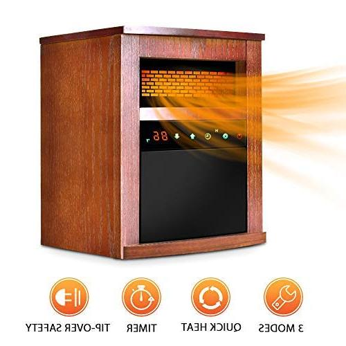 electric space heater portable infrared