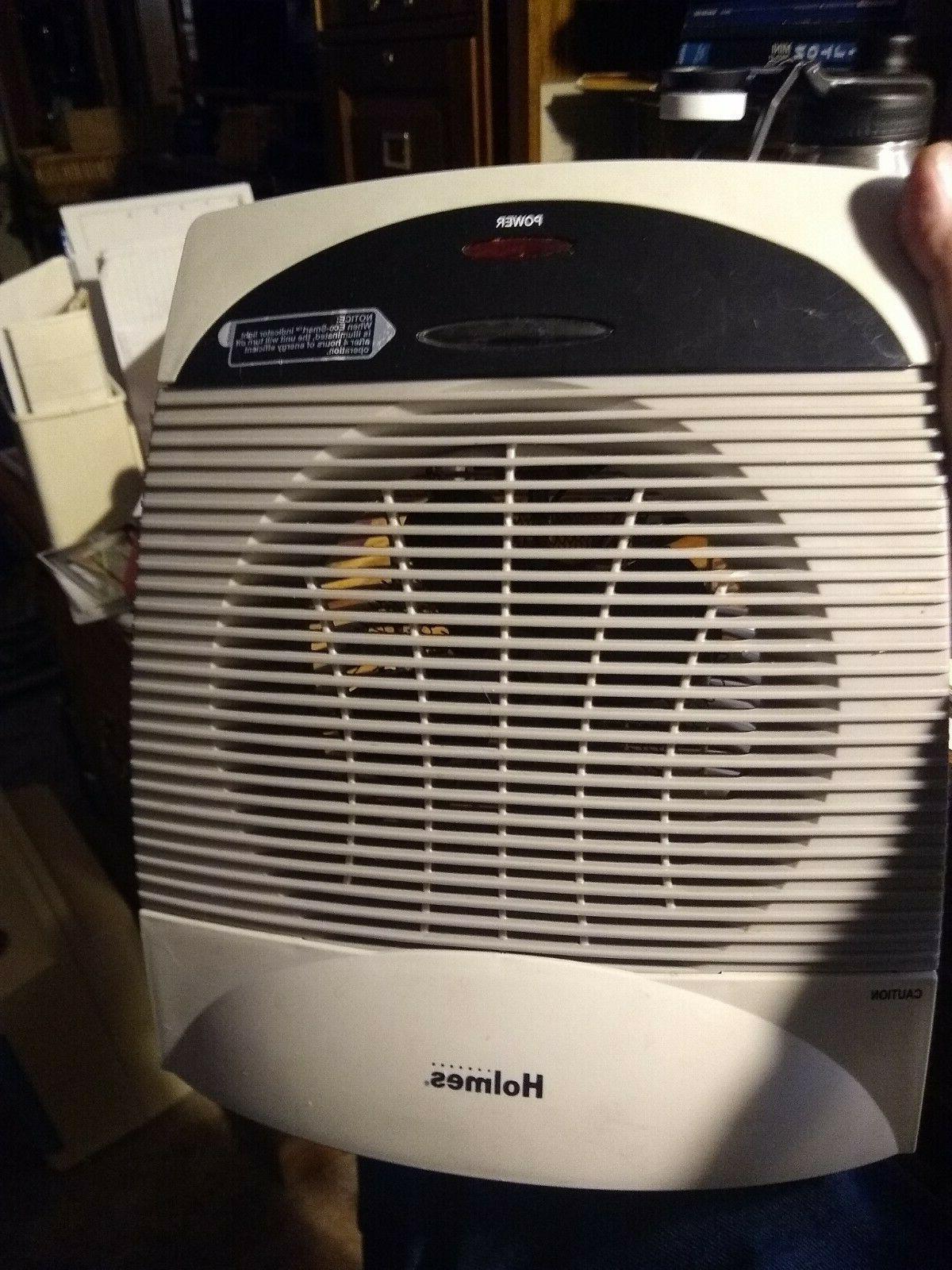 fan driven electric space heater