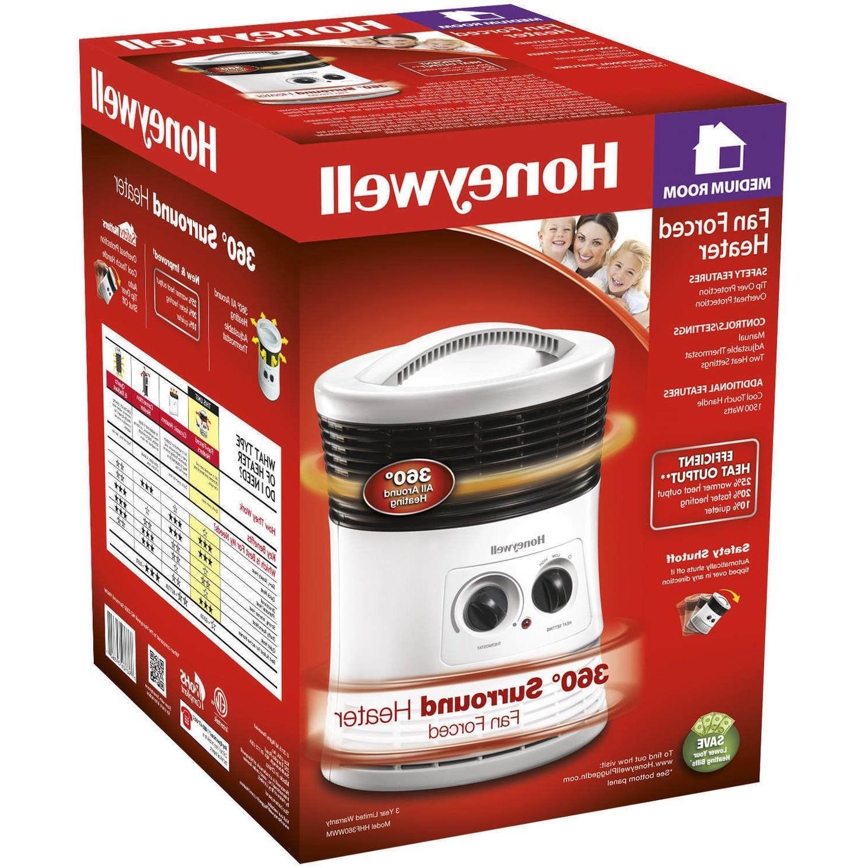 Honeywell Fan Forced Heater 360 Degree Surround  HHF360WWM