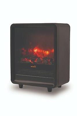 Crane Heater, Adjustable Heat, Ceramic Element - Black