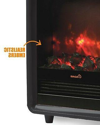 Crane Fireplace Heater, Adjustable Ceramic Element