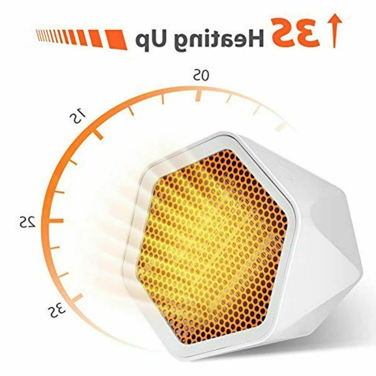 Gocheer Space Heater, 2-1 Heating Thermostat WHITE