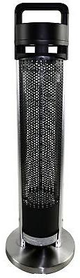 HeTR H1014UPS Indoor/Outdoor Rated Radiant Tower Heater, 36-
