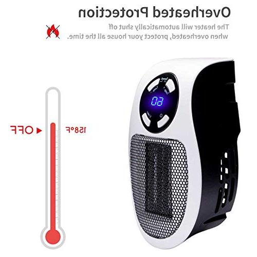 Brightown Handy Heater Portable with and Office Dorm Room, 350-Watt ETL for Safe