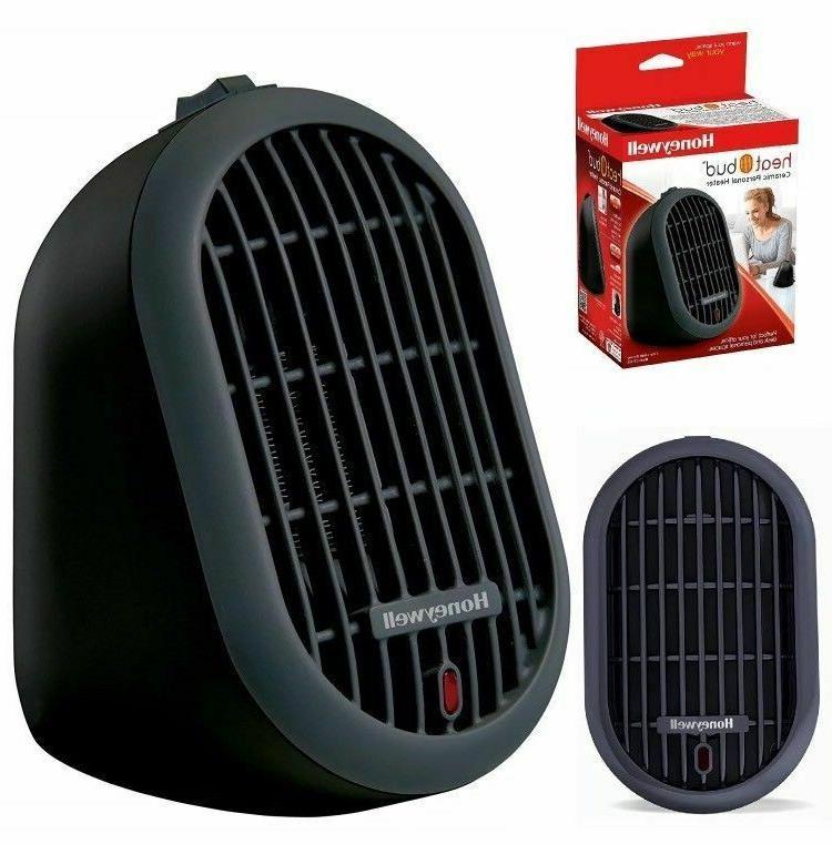 heat bud ceramic personal heater hce100b black
