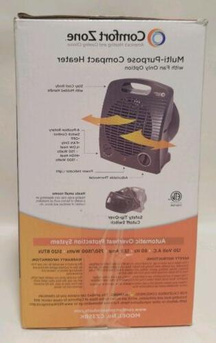 Comfort Heater/Fan Model No. CZ35Bk Black Heater
