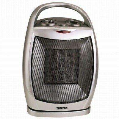 heater portable oscillating ceramic thermostat