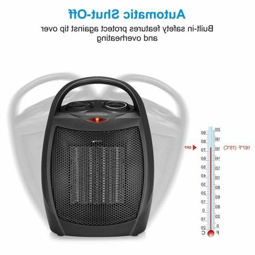 HOME_CHOICE Ceramic Heater Quiet Heater