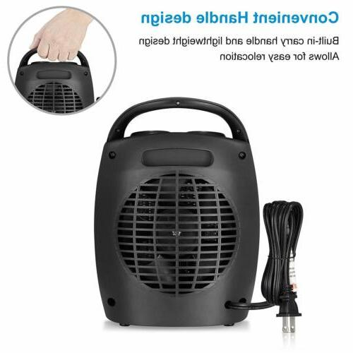 HOME_CHOICE Small Ceramic Space Heater Quiet Portable