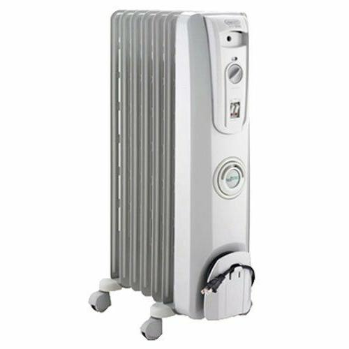 Home Office Space 1500W Portable Oil-Filled Radiator