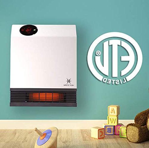 Heat Storm Infrared Wall Heater