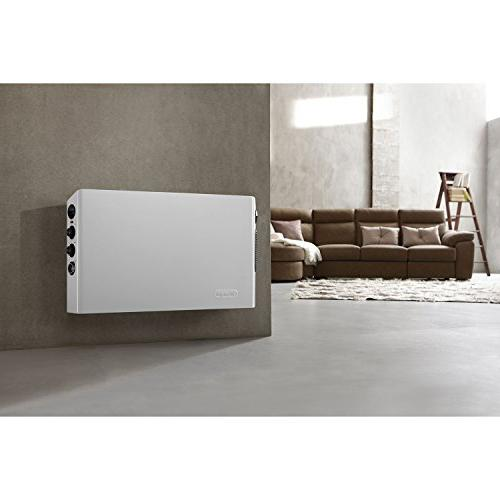 DeLonghi HSX3315FTS Style Digital 1500W Heater Dual White