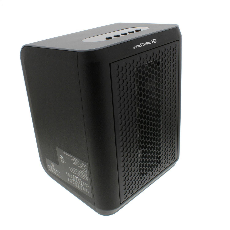 Comfort Zone Portable Desktop Heater for Home Office