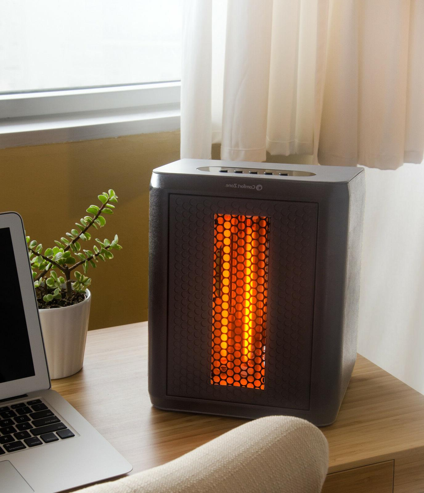 infrared electric portable desktop space heater