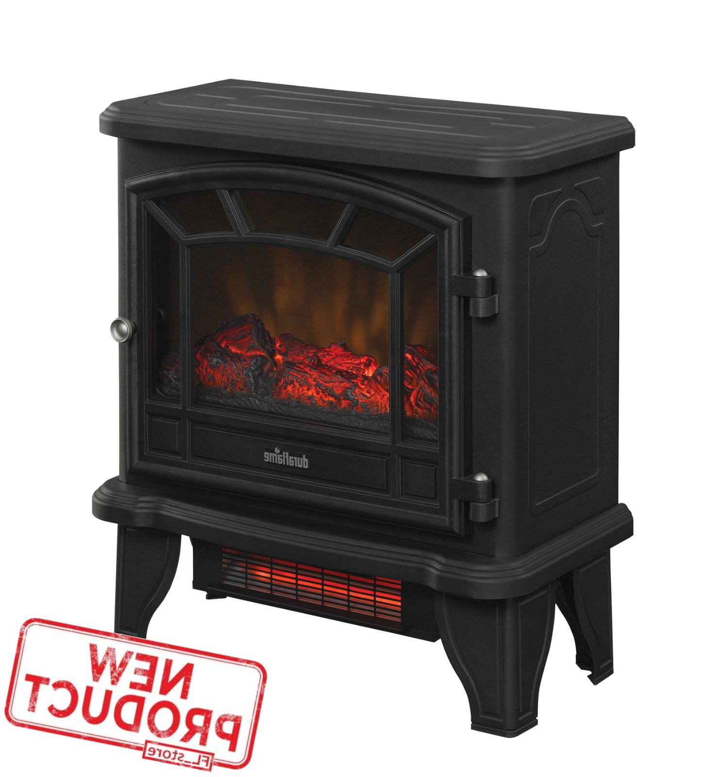 infrared fireplace space heater electric stove home
