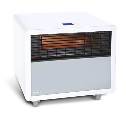 Crane USA Infrared Heater, White, 1 ea