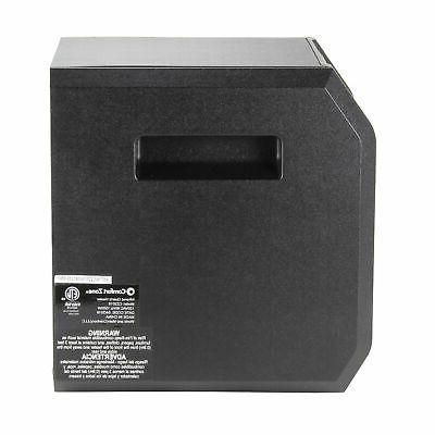 Comfort Zone 1,500-Watt Digital Quartz Space Heater