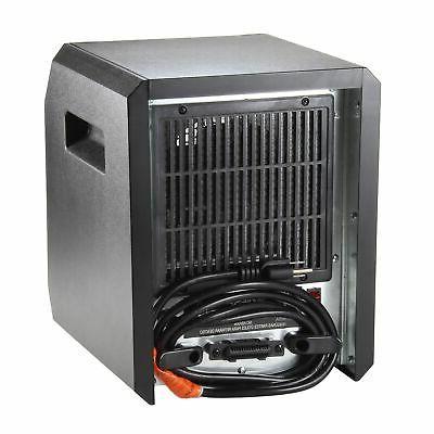 Comfort Zone 1,500-Watt Electric Digital Space Heater