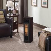 New ChimneyFree Infrared Quartz Heater, Dark Espresso