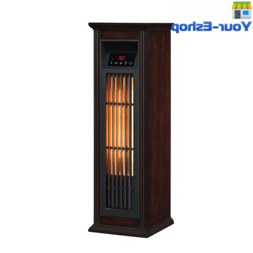 Infrared Quartz Heater Large Room With Thermostat Tower Heat