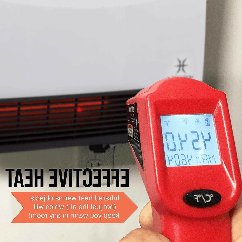 Heat Storm Heater Floor/Wall Room Indoor Energy Efficient