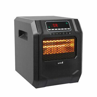 Ir Quartz Heater Remote Heating 4-Element Space