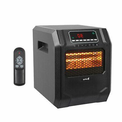 ir quartz heater 1500w remote control home