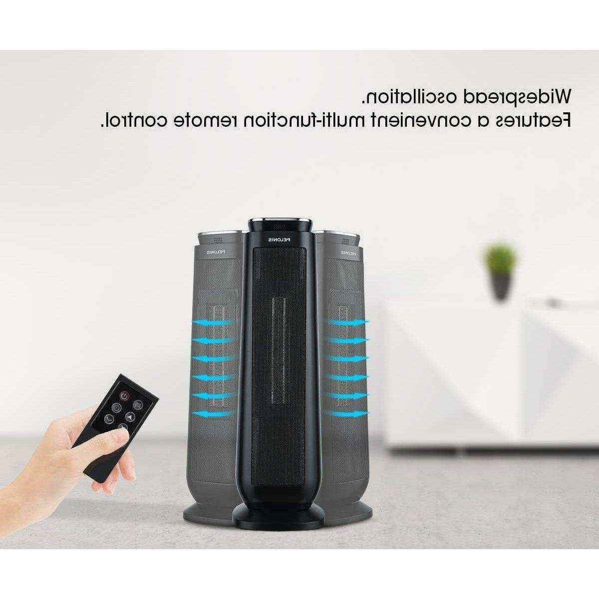 Large Heater Oscillating Tower Safe Electric Indoor Room