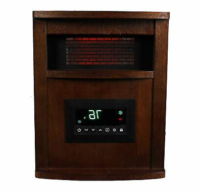LifeSmart LifePro Element 1500W Infrared Quartz Space Heater
