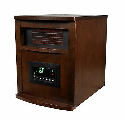 LifeSmart 1500W Portable Quartz Space Heater