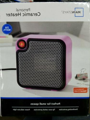 main stays personal ceramic space heater 250