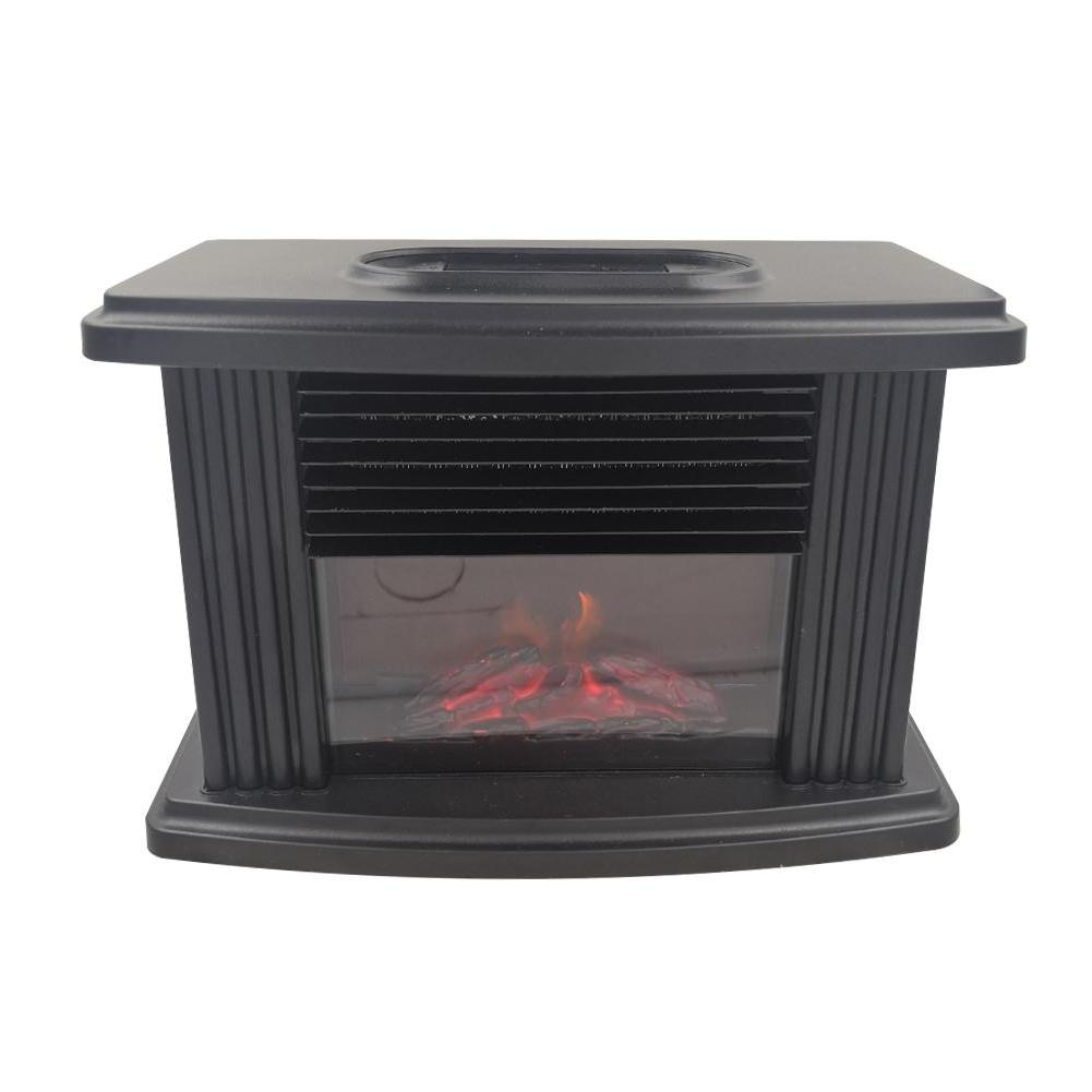 Mini Electric Fireplace Stove Portable Tabletop <font><b>Ind