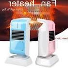 Mini Electric Heater Portable Desktop Warmer Fan Space Heate