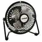 Holmes Mini High Velocity Personal Fan, One Speed, Black