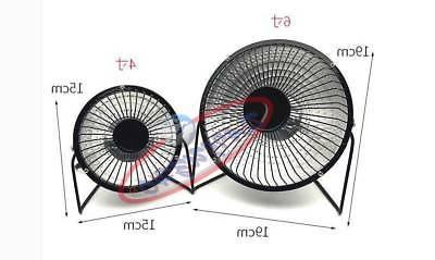 mini portable electric heater office warmer fan