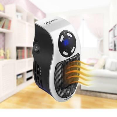 Plug-in Wall-Outlet Heater Portable 500W Durable