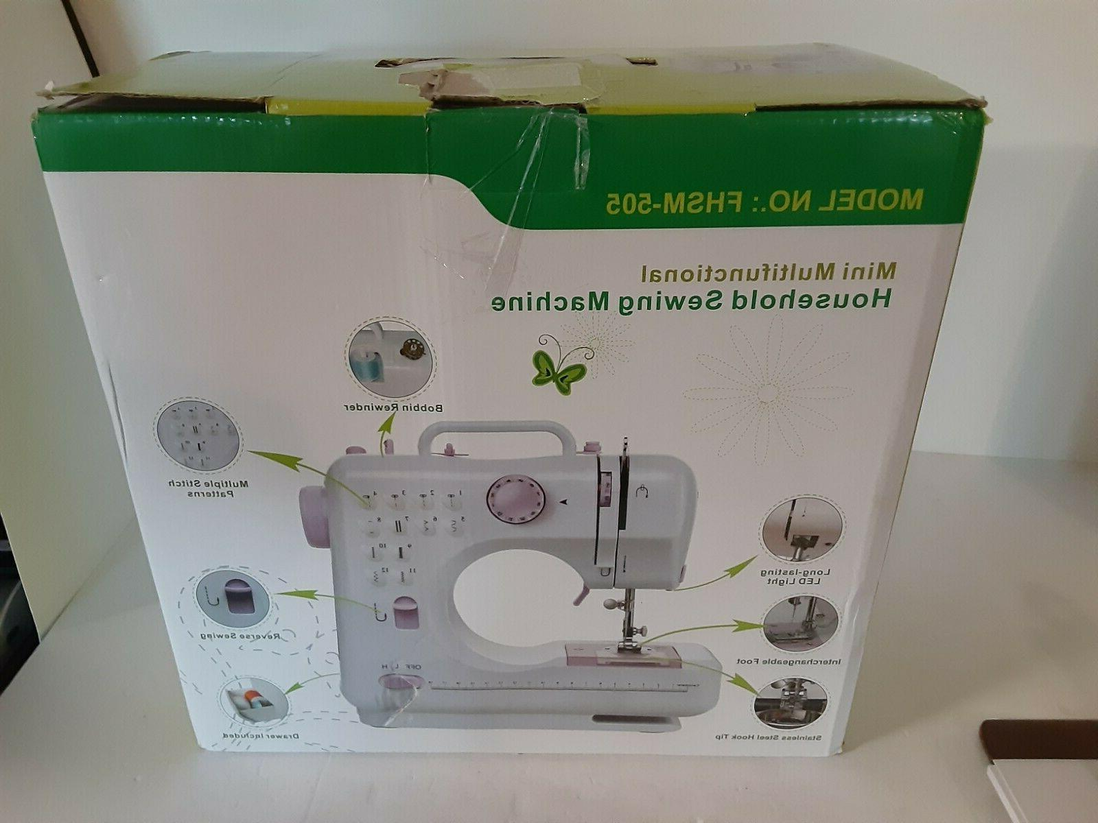 Mini Free-Arm Sewing with 12