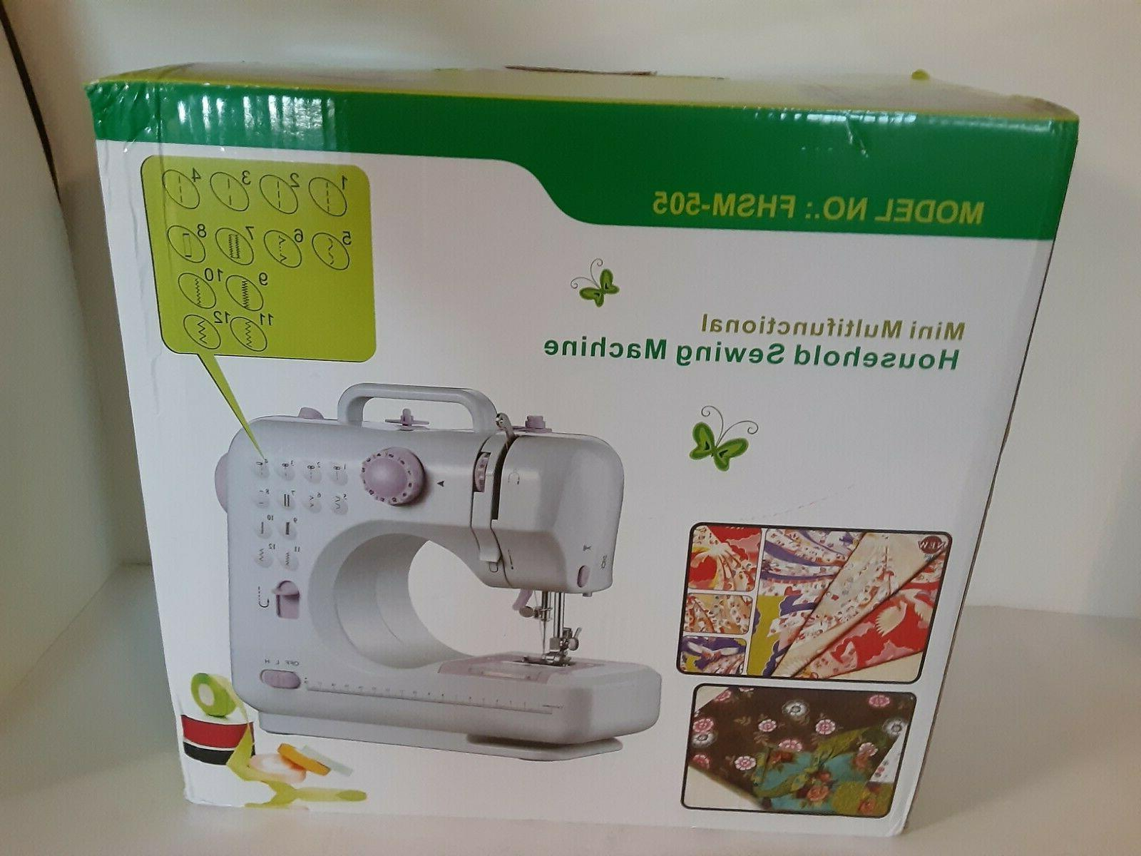 mini sewing machine fhsm 505 free arm