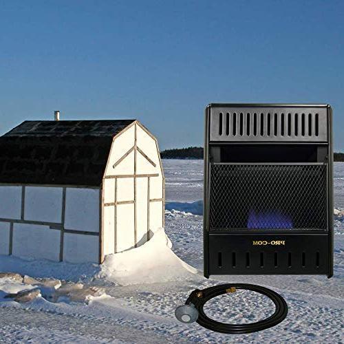 ProCom ML100TBAHR ice House Heater, Black