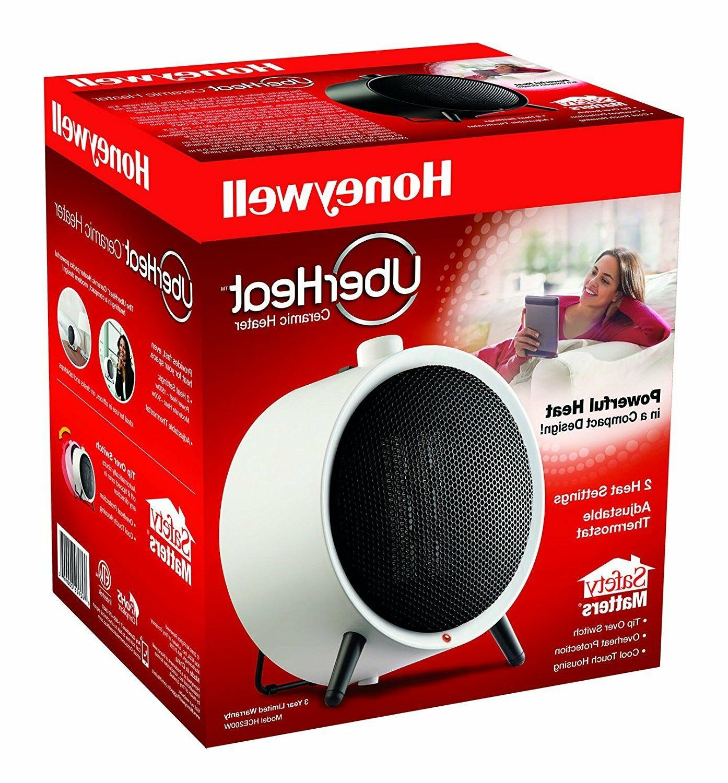 New Honeywell 1500 Watt 2-Speed Ceramic Space Heater with Ad