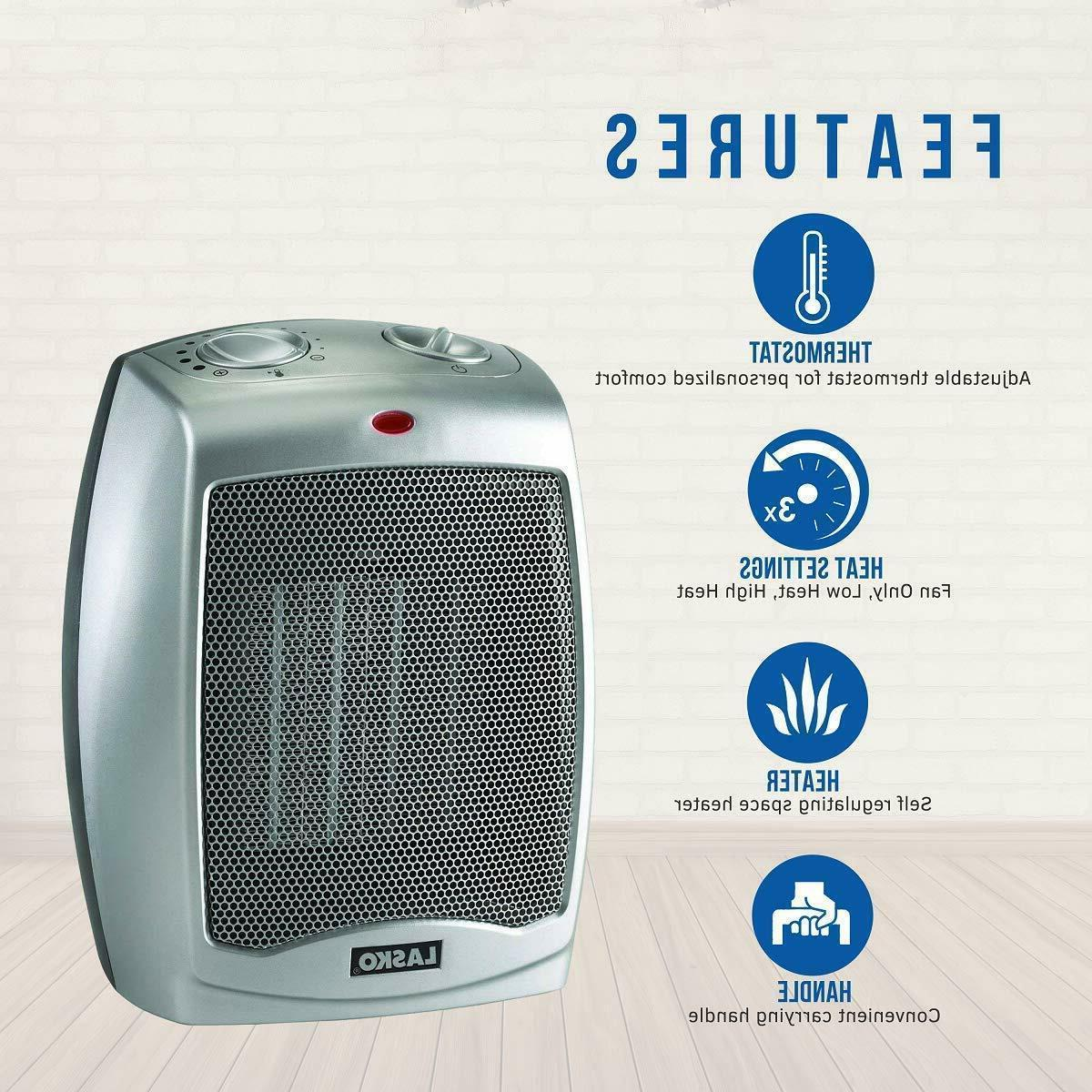 Ceramic Portable Space 754200 Heater with Adjustable Thermos